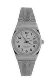 Ottimo dames horloge zilver wit milanees OR018L-D