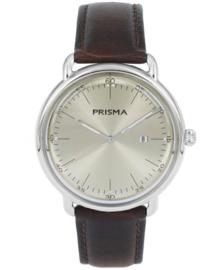 Prisma Retro Heren horloge Dome Mark Champange P.1912