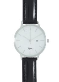 Tyno dames horloge Zilver wit 101-001 Z