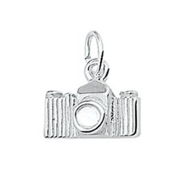 Zilveren hanger Fotocamera