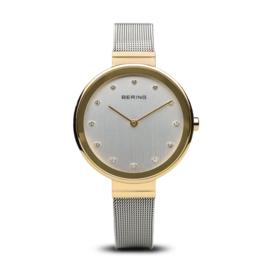 Bering horloge classic polished goud zilver 12034-010