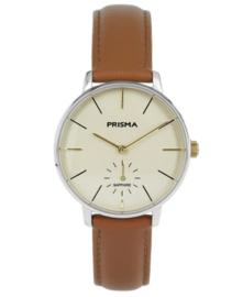 Prisma Dames Horloge Retro corum Cognac