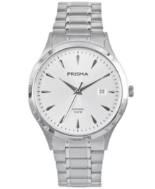 Prisma Heren horloge Journey MR. Ultimate zilver P.1650