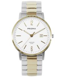 Prisma Heren Horloge Slimline MR. Steel Bicolor P.1472