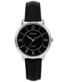 Prisma Dames horloge Serenity Curve Zwart P.1971