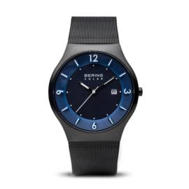 Bering horloge solar zwart blauw 14440-227