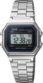 Q&Q digitaal horloge zilver M173J001