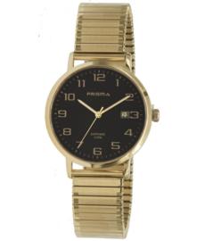 Prisma Heren horloge Regant Belief Goud Rekband P.1755
