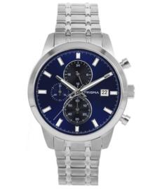 Prisma Heren Horloge Traveller Titanium Blauw P.1947