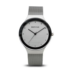 Bering horloge classic polished zilver grijs 12934-000