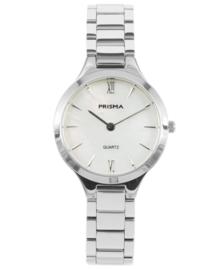 Prisma dames horloge Simplicity appeal zilver P.1460
