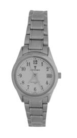 Ottimo dames horloge zilver wit OT-WPA080