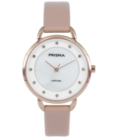 Prisma Dames horloge Pure Rhombic  Roze P.1936
