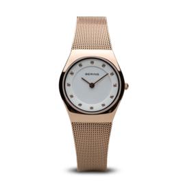Bering horloge classic polished rosé goud 11927-366