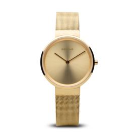 Bering horloge classic polished goud 14531-333