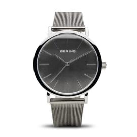 Bering horloge classic polished zilver grijs 13436-309