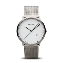 Bering horloge classic polished silver 11139-004