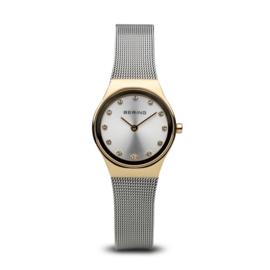 Bering horloge classic polished goud zilver 12924-001