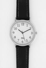 Tyno Zilver wit 301-001 zwart