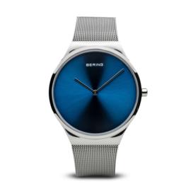 Bering horloge classic polished zilver zlauw  12138-007