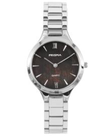 Prisma Dames horloge  Simplicity Appeal zilver P.1461
