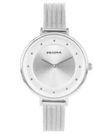Prisma Dames horloge Pure Fance Zilver P.1778