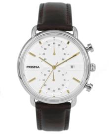 Prisma Heren horloge Dome Crono Goud P.1921