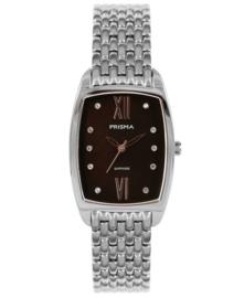 Prisma Dames horloge  Precise Pearl Zwart P.1961