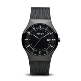 Bering horloge Solar zwart 14640-222
