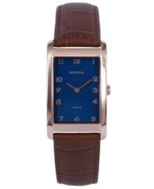 Prisma dames Horloge Precise Quada Roségoud P.1968