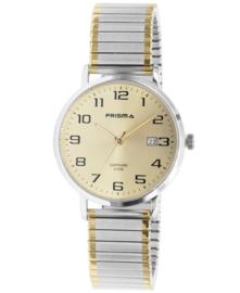 Prisma Heren horloge Regant Belief Bicolor Rekband P.1753