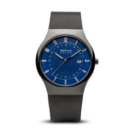 Bering horloge solar zwart blauw 14640-227