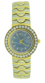 Cetronic dames horloge bi color 3