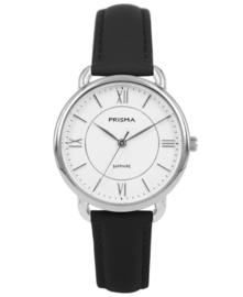 Prisma Dames horloge serenity curve Zilver P.1970