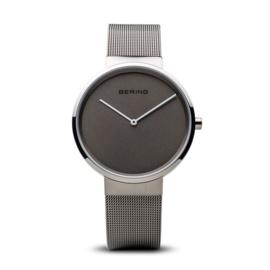 bering horloge classic brushed grijs 14539-077