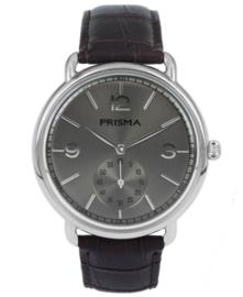 Prisma Vintage heren horloge Dome classic bruin P.1916