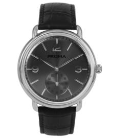 Prisma Vintage heren horloge Dome classic zwart P.1915