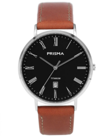 Prisma  horloge Tailor Bruin P.1486