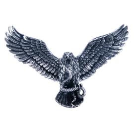 Zilveren Hanger Adelaar met beweegbare vleugels