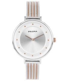 Prisma Dames Horloge Pure Fance Rosé goud P.1876