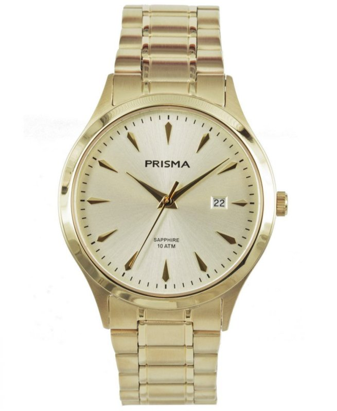 Prisma Heren horloge Journey MR. Ultimate Goud P.1852