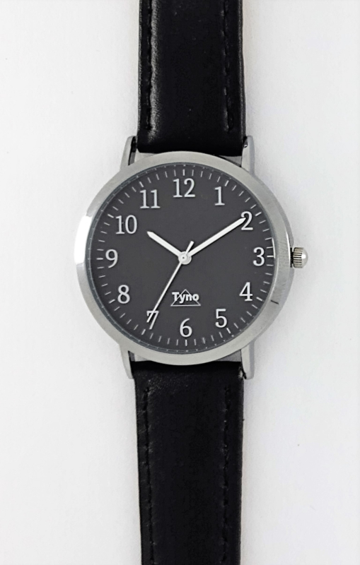Tyno zilver zwart 301-002 zwart