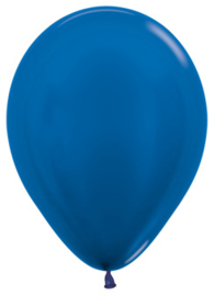"Metallic blauw 12""(30cm) 50 st."