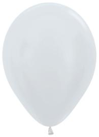 "Sempertex Pearl 12"" Wit zk. á 50 stuks"