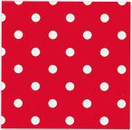 Servetjes Polka Dots Rood
