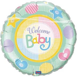 "Ballon 36"" 'Welcome baby'"