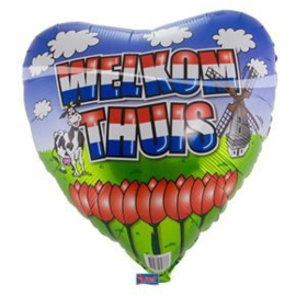 """Ballon Welkom Thuis 18"""""""