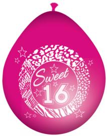 Ballonnen Sweet16