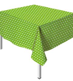 Tafelkleed Polka Dots Groen
