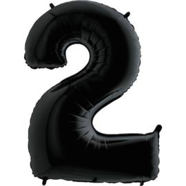 """Sempertex 40"""" Nummer 2 Zwart"""